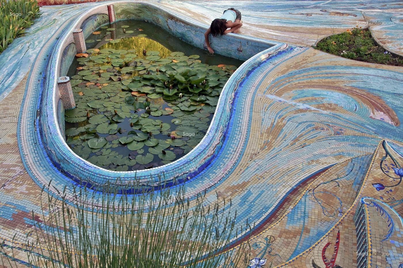 Photo de jardin de la feuilleraie mosaiques et bassins for Entretien jardin eure et loir