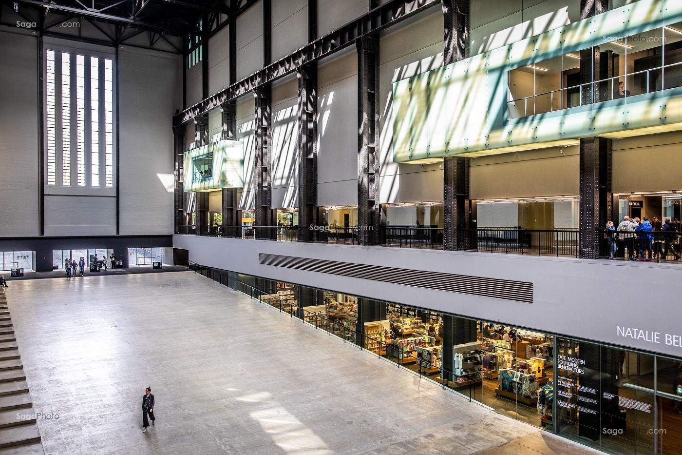TATE MODERN, MUSEE D'ART MODERNE, LONDRES, ANGLETERRE