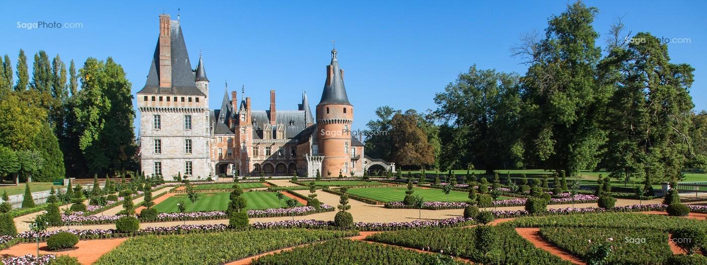 Photo de jardin le notre chateau de maintenon eure et for Entretien jardin eure et loir