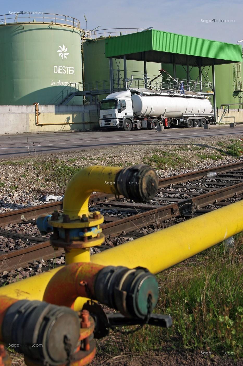 photo de usine saipol
