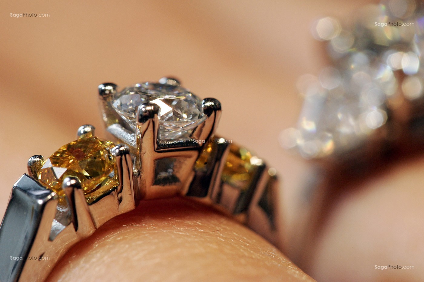 bague diamant gassan