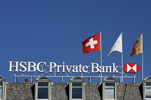 BANQUE 'HSBC PRIVATE BANKING', BANQUES PRIVEES SUISSES A GENEVE, SUISSE