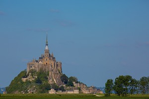 MONT SAINT MICHEL, (50) MANCHE, BASSE NORMANDIE, FRANCE