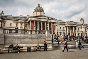 NATIONAL GALLERY, TRAFALGAR SQUARE, LONDRES, ANGLETERRE