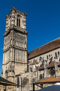 COLLEGIALE SAINT-MARTIN, CLAMECY, NIEVRE, BOURGOGNE, FRANCE