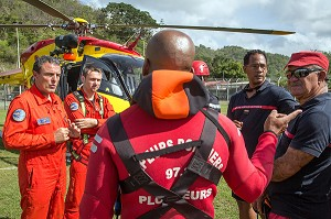 SECOURS, SECURITE CIVILE, MARTINIQUE