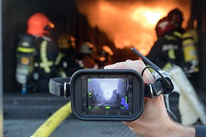 LA CAMERA THERMIQUE LEADER TIC 3 EN VERSION WIFI, ATELIERS DES FIRE DAYS, AUXERRE (89), FRANCE